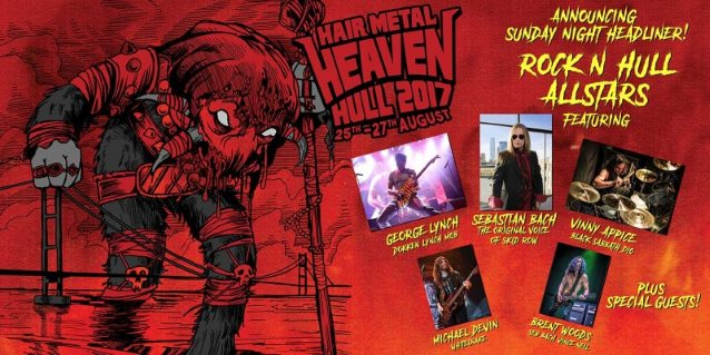 SEBASTIAN BACH, GEORGE LYNCH, VINNY APPICE Perform DOKKEN, SKID ROW, BLACK SABBATH Classics At